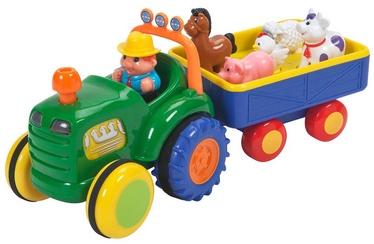 Interaktīva rotaļlieta Kiddieland Farm Tractor With Trailer 24752