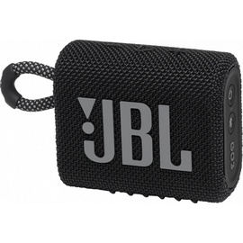 JBL GO 3 Bluetooth Speaker Black