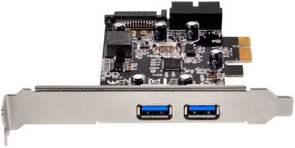 SilverStone SST-EC04-E PCIe 2x USB 3.0