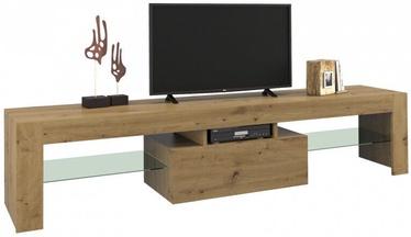 ТВ стол Top E Shop, коричневый, 1600x400x450 мм