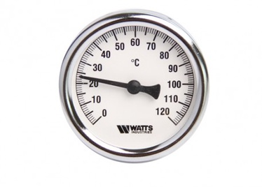 Termometrs Watts Thermometer 1/2 120C 63mm