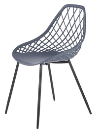 Ēdamistabas krēsls Halmar K330 Dark Gray, 1 gab.