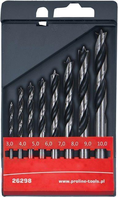 Proline Wood Drill Set 3-10mm
