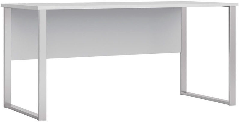 Black Red White Office Lux Writing Desk Gray 160x73