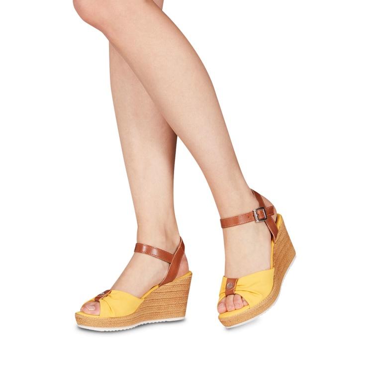 Tamaris Battia Healed Sandal 1-1-28341-22 Sun Cognac 39
