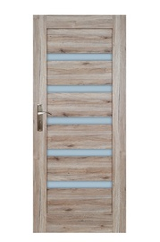 Durvju vērtne Everhouse Turyn 5/5 84,4x203,5cm, sanremo ozols, labās puses