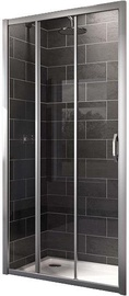 Дверца душа Huppe X1 2-Section Shower Doors 900x1900mm Silver/Transparent