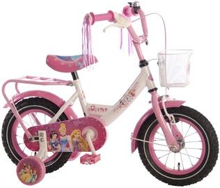 Детский велосипед Volare Disney Princess 12 31206, белый/розовый, 12″