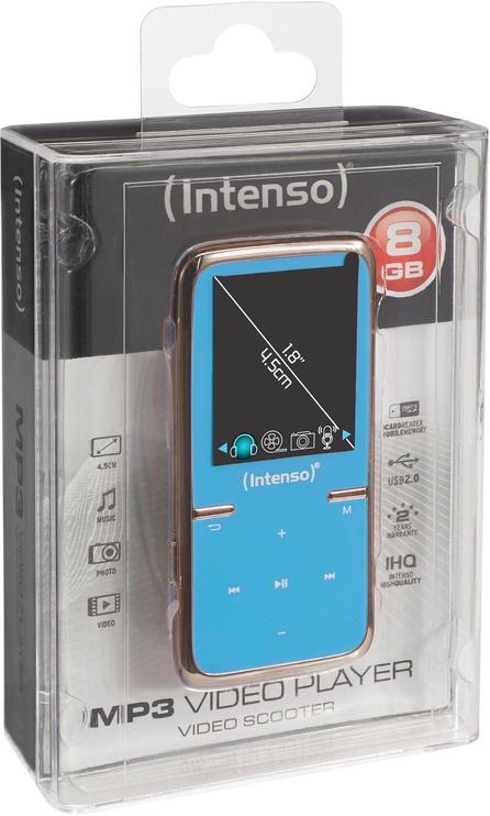 Mūzikas atskaņotājs Intenso Video Scooter Blue, 8 GB