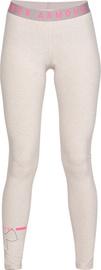 Under Armour Womens Favourite Big Logo Leggings 1342638-015 Grey/Pink M