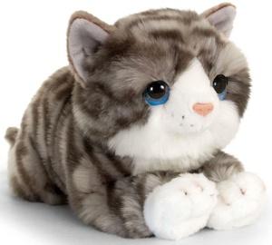 Плюшевая игрушка Keel Toys Cuddle Kitten Gray, 32 см