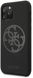 Guess 4G Tone On Tone Back Case For Apple iPhone 11 Pro Black