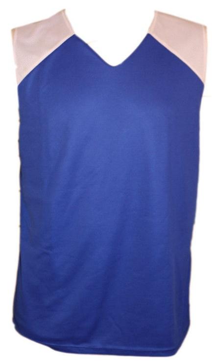 Футболка Bars Mens Basketball Shirt Blue/White 179 S