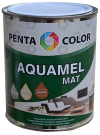 Pentacolor Aquamel Mat Emulsion Paint Green 0.7kg