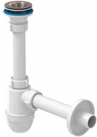 Ani Plast 1 1/4'' Siphon with Hard Pipe 200mm 32mm