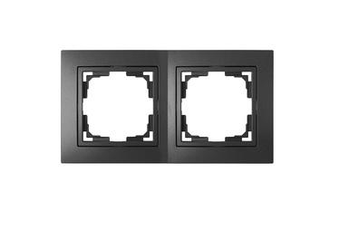 Okko 735212.280-40 2-Socket Frame Anthracite