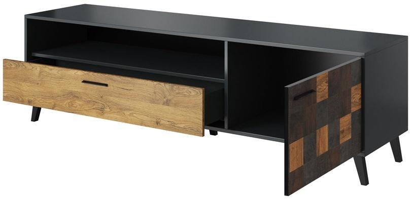 ТВ стол Cama Meble Soul, коричневый, 1800x450x520 мм