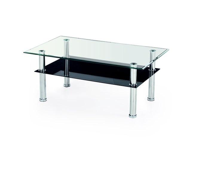 Kafijas galdiņš Halmar Yolanda Stainless Steel, 1030x630x500 mm