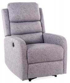 Atzveltnes krēsls Signal Meble Olimp Grey, 72x55x108 cm