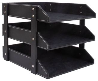 Home4you Walter Document Shelves Black