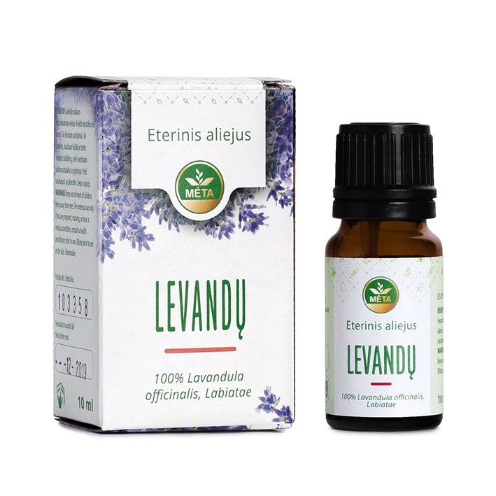 ECO META Essential Lavender Oil 10ml