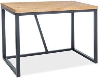 Письменный стол Signal Meble Silvio Oak/Black