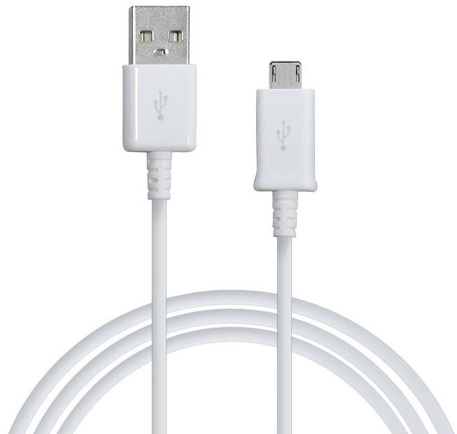 Samsung Universal Micro USB Data And Charger Cable 1.5m White OEM