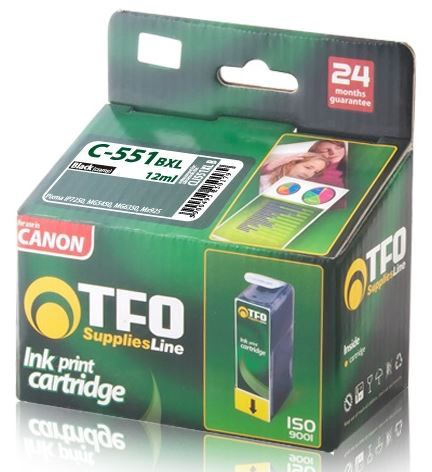 TFO Ink Cartridge XL 12ml for Canon Black