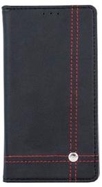 Mocco Smart Focus Book Case For Samsung Galaxy J7 J730F Black/Red