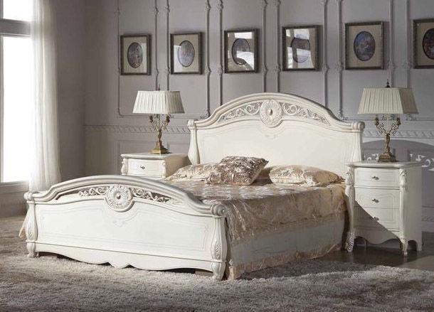 MN CF8653 Bed 180x200cm White