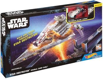 Mattel Hot Wheels Star Wars Star Destroyer Double Jump Duel Track Set DPV37