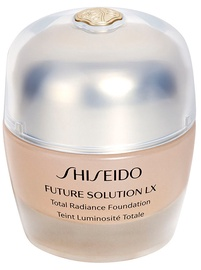Tonizējošais krēms Shiseido Future Solution Lx Total Radiance Foundation Fluid 03 Rose, 30 ml
