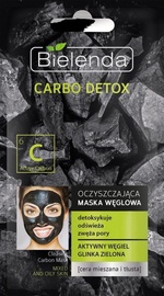 Маска для лица Bielenda Carbo Detox Purifying Mask Mixed & Oily Skin, 8 г
