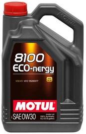 Motoreļļa Motul 8100 Eco-Nergy 0W - 30, sintētiskais, vieglajam auto, 5 l
