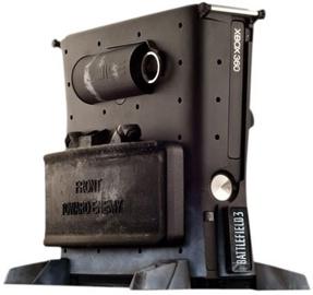 Calibur11 Battlefield 3 Vault 3D Armored Gaming Case For Xbox 360 Slim