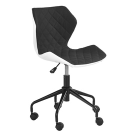 Halmar Matrix Childrens Chair White/Black