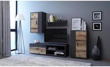 WIPMEB Berno Living Room Wall Unit Set Matera/Old Style