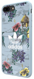 Adidas Floral Back Case For Apple iPhone X/XS Blue