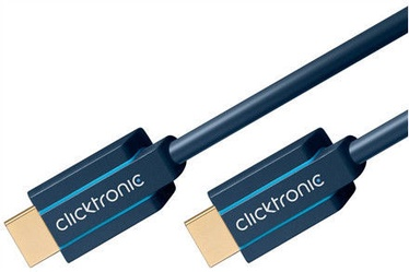 Clicktronic Cable Ultra High Speed HDMI To HDMI 1m Blue