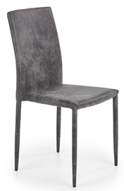 Halmar Chair K375 Dark Grey
