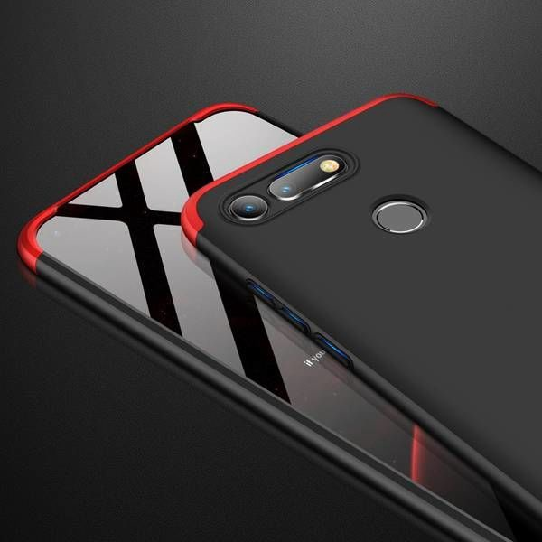 GKK 360 Protection Case For Huawei Honor View 20 Black/Red