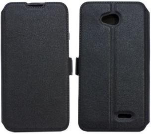 Telone Super Slim Shine Book Case For HTC U11 Life Black