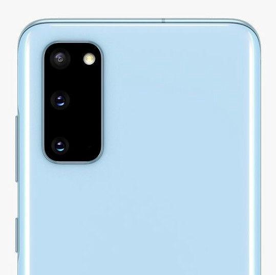 Mobilais telefons Samsung Galaxy S20 SM-G980, zila, 8GB/128GB