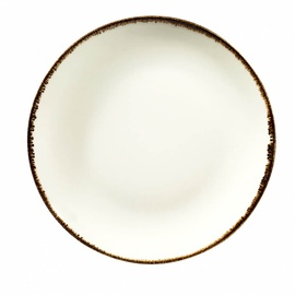 Šķīvis Kütahya Porselen Kutahya Corendon Beige, bēša/daudzkrāsains/smilškrāsas