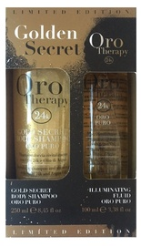 Fanola Golden Secret Gold Therapy Body Shampoo Set 250ml + 100ml Illuminating Fluid