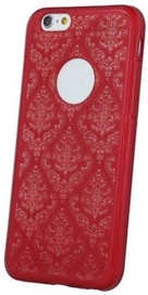 Mocco Ornament Back Case For Apple iPhone X Red