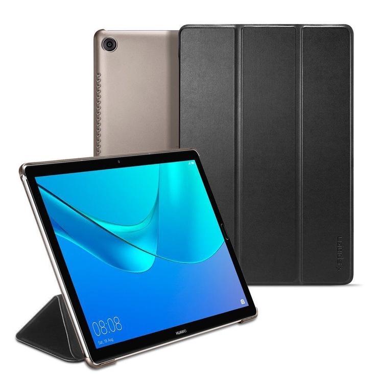 Spigen Smart Fold Book Case For Huawei MediaPad M5 10.8/M5 Pro Black