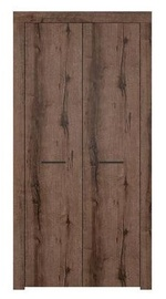 Гардероб Black Red White Baylar SZF2D Monastery Oak, 95.5x56.5x196.5 см