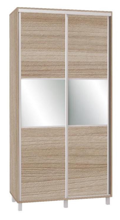 Skapis Bodzio SZP120W Latte, 120x60x240 cm, with mirror