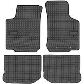 Резиновый автомобильный коврик Frogum Skoda Octavia / Seat Leon / Toledo / VW Bora / Golf / New Beetle, 4 шт.